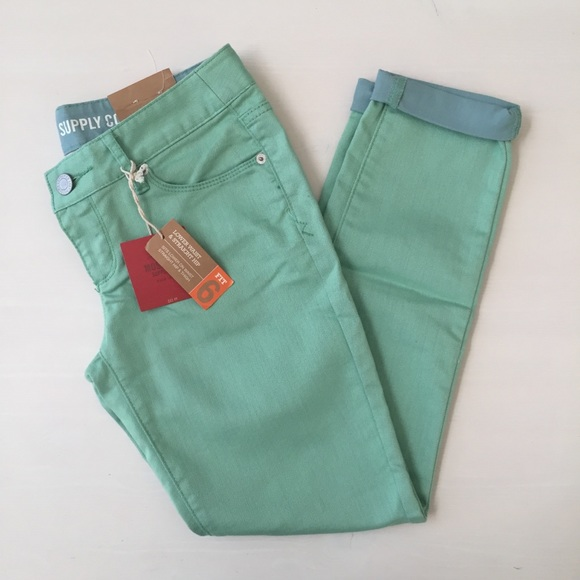 Mossimo Supply Co. Denim - Mossimo light green skinny ankle jeans NWT